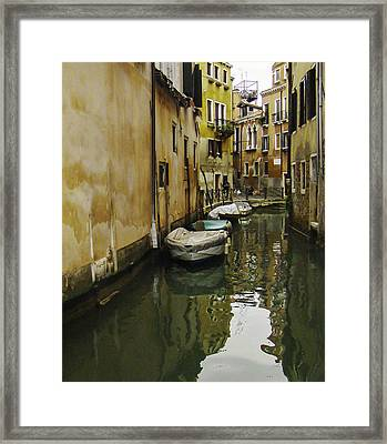 Venice Backroad Framed Print