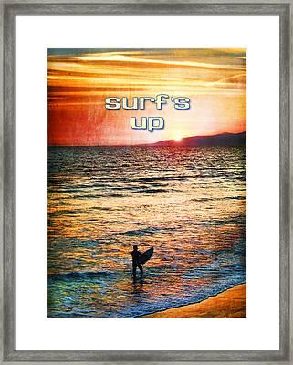 Venice Beach Boogie Framed Print by Tammy Wetzel