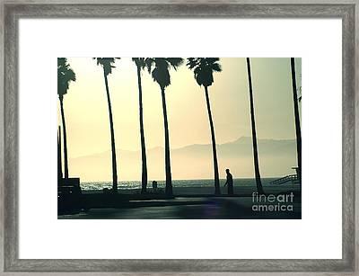 Venice Beach California Framed Print by Micah May