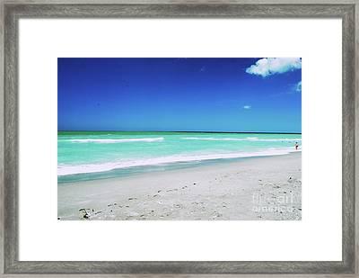 Framed Print featuring the photograph Venice Beach by Gary Wonning