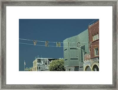 Venice Beach Magic 4 Framed Print