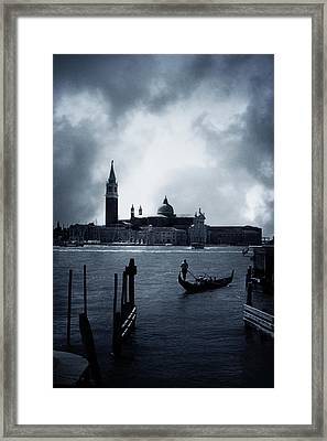 Venice Framed Print by Cambion Art