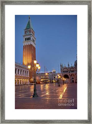 Venice Campanile St. Marks Square Framed Print