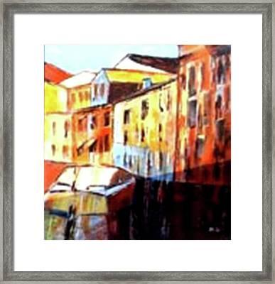 Venice Canal Cruise 3 Framed Print