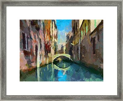 Venice Canals 02 Framed Print