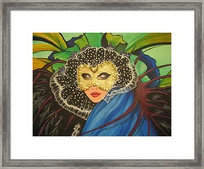 Venice Carnival 1 Framed Print