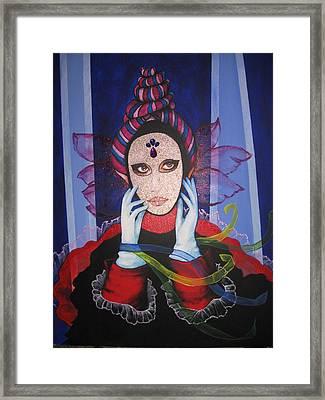 Venice Carnival 3 Framed Print