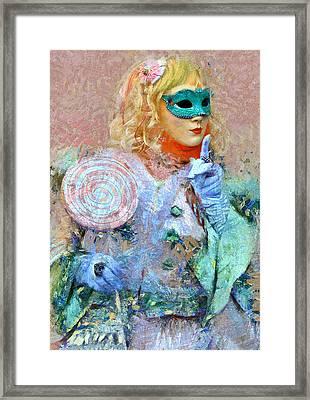Venice Carnival 9 Framed Print