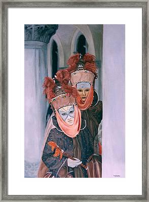 Venice Carnival Framed Print