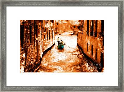 Venice City Framed Print by Gull G