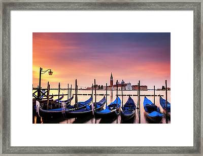 Venice Colors Framed Print