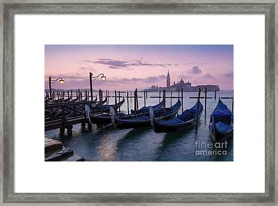 Framed Print featuring the photograph Venice Dawn II by Brian Jannsen