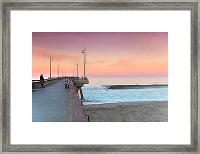 Venice Dawn Framed Print