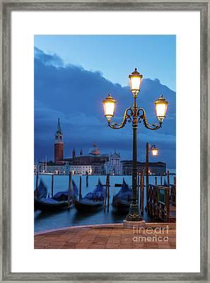 Venice Dawn V Framed Print by Brian Jannsen