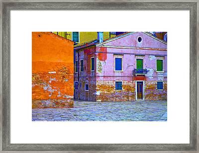 Venice Dorsoduro Framed Print by Jean-luc Bohin