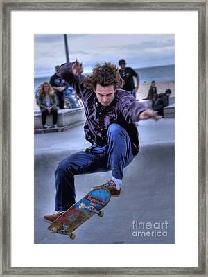 Venice Flyers - 5 Framed Print