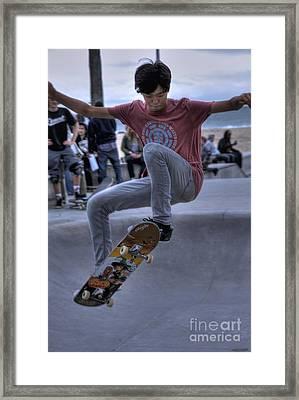 Venice Flyers Framed Print