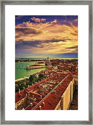 Venice From The Bell Tower Framed Print