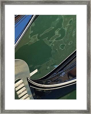 Venice Gondola 2 Framed Print