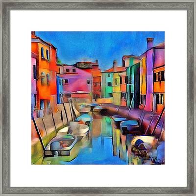 Venice Grand 01 Framed Print