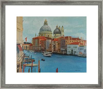 Venice Grand Canal I Framed Print
