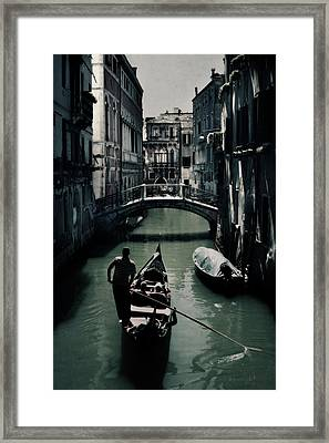 Venice II Framed Print by Cambion Art