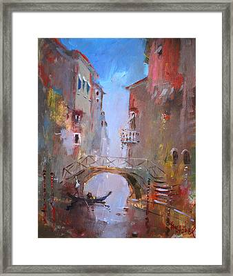 Venice Impression Framed Print by Ylli Haruni
