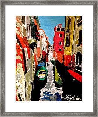 Venice Italy  Framed Print