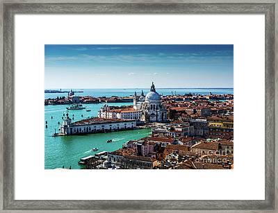 Venice Framed Print by M G Whittingham