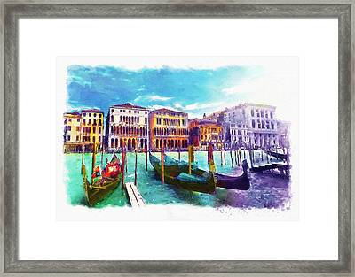 Venice Framed Print by Marian Voicu