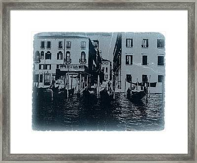 Venice Framed Print by Naxart Studio