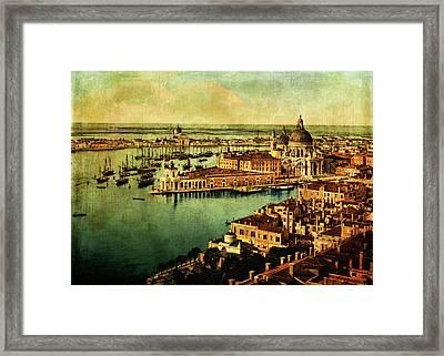 Venice Observed Framed Print by Sarah Vernon