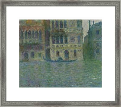 Venice, Palazzo Dario Framed Print
