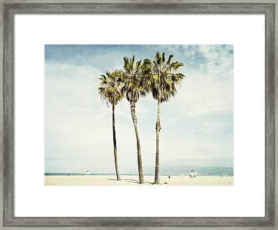 Venice Palms  Framed Print by Bree Madden