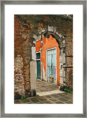 Venice Passage Framed Print by Art Ferrier
