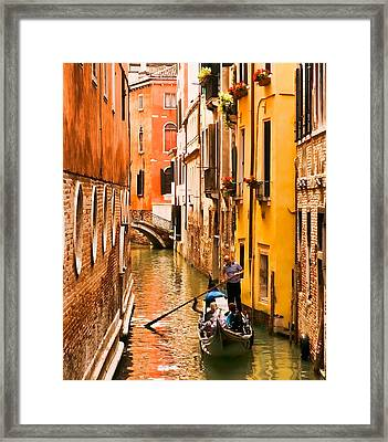 Venice Passage Framed Print