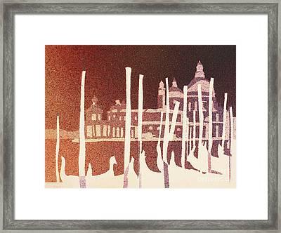 Venice Reversed Framed Print by Ryan Fox