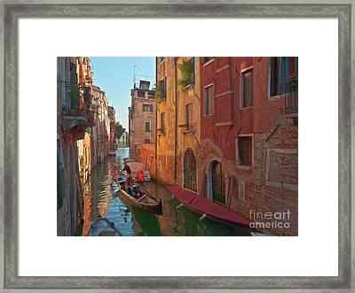 Venice Sentimental Journey Framed Print by Heiko Koehrer-Wagner