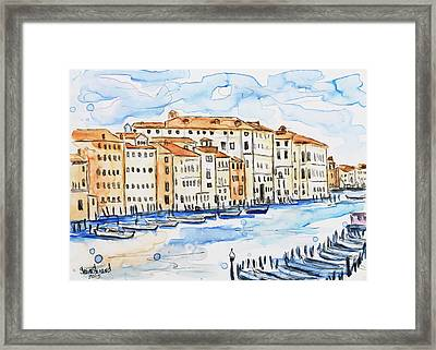 Venice Framed Print by Shaina Stinard