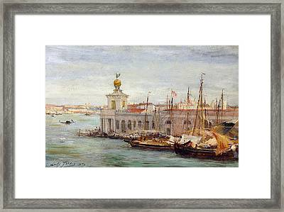 Venice Framed Print by Sir Samuel Luke Fields