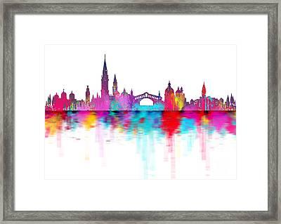 Venice Skyline  Italy Framed Print by Prar Kulasekara