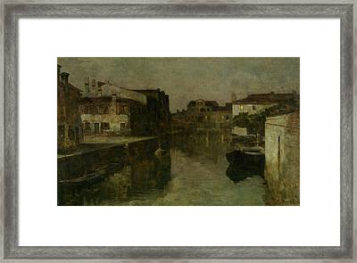 Venice Sleeping Framed Print