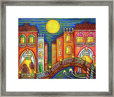 Venice Soiree Framed Print