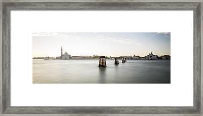 Venice Sunrise 00365 Framed Print
