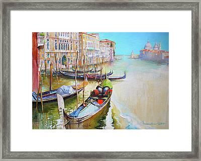 Venice Framed Print by Tanya Ilyakhova