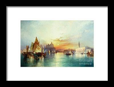 Palace Pier Framed Prints