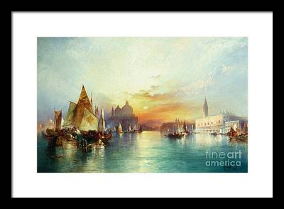 Atmospheric Paintings Framed Prints