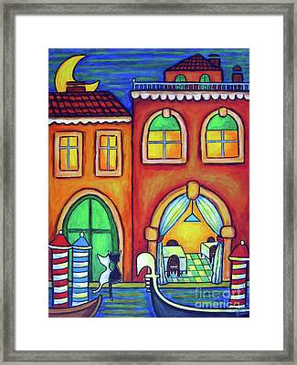 Venice Valentine II Framed Print by Lisa  Lorenz