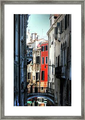 Framed Print featuring the photograph Venice Xx by Tom Prendergast