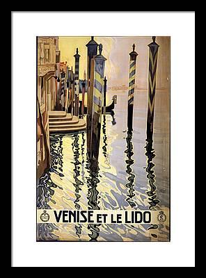 Venise Framed Prints